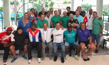 Cuba vence a EE.UU en partido amistoso de fútbol rugby aficionado