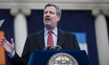 Bill de Blasio, primer alcalde demócrata en Nueva York, podría ser reelegido este martes