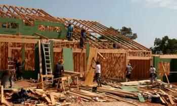 Bajael ritmo de construcción de viviendas en EE.UU. debido a los huracanes