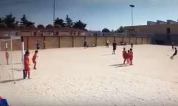 ¡De tal palo, tal astilla! El hijo de Cristiano Ronaldo marca golazo de tiro libre