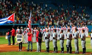 Cuba y Estados Unidos efectuarán tope amistoso de béisbol en Carolina del Norte