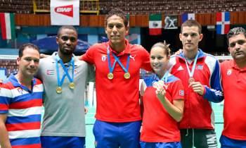 Cuba gana 3 medallas de oro en Torneo de Bádminton Giraldilla de La Habana