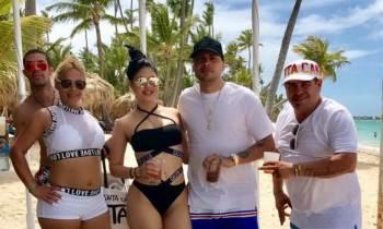 Las paradisíacas vacaciones de Jacob Forever en República Dominicana