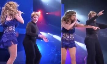 La madre de Jennifer Lopez baila en un concierto de su hija y se vuelve la protagonista de la noche