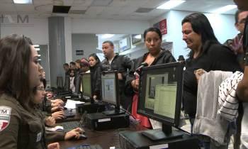 Cientos de migrantes cubanos inician proceso de legalización para quedarse en Nuevo Laredo
