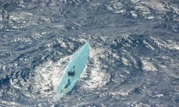 La Guardia Costera de Estados Unidos intercepta un semi-sumergible con 3,800 libras de cocaína