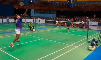 Badmintonista Osleni Guerrero irá este domingo a revalidar su título en Torneo Giraldilla de La Habana