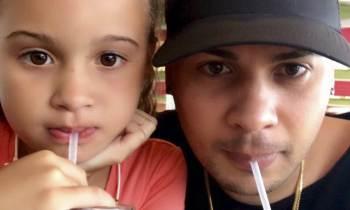 Jacob Forever de paseo por Miami con su hija Laira