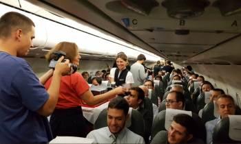 Samsung regala a los pasajeros de un vuelo de Iberia el nuevo Galaxy Note 8