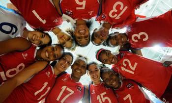 Cuba vence a República Dominicana en segundo partido amistoso de voleibol sub-20