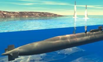 """El submarino estadounidense que podría """"borrar del mapa"""" a Corea del Norte"""