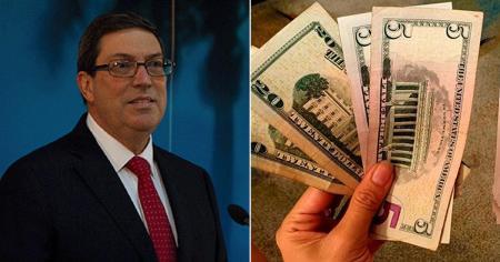 """Bruno Rodríguez califica suspensión de depósitos en dólares como """"indispensable"""" para proteger la economía"""