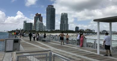Esta semana Miami-Beach, Broward y Palm Beach verán bajar los termómetros hasta los 47°F (8°C).