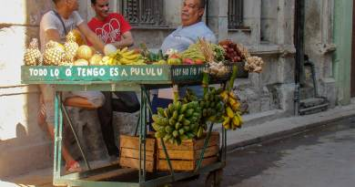 Carretilleros cubanos