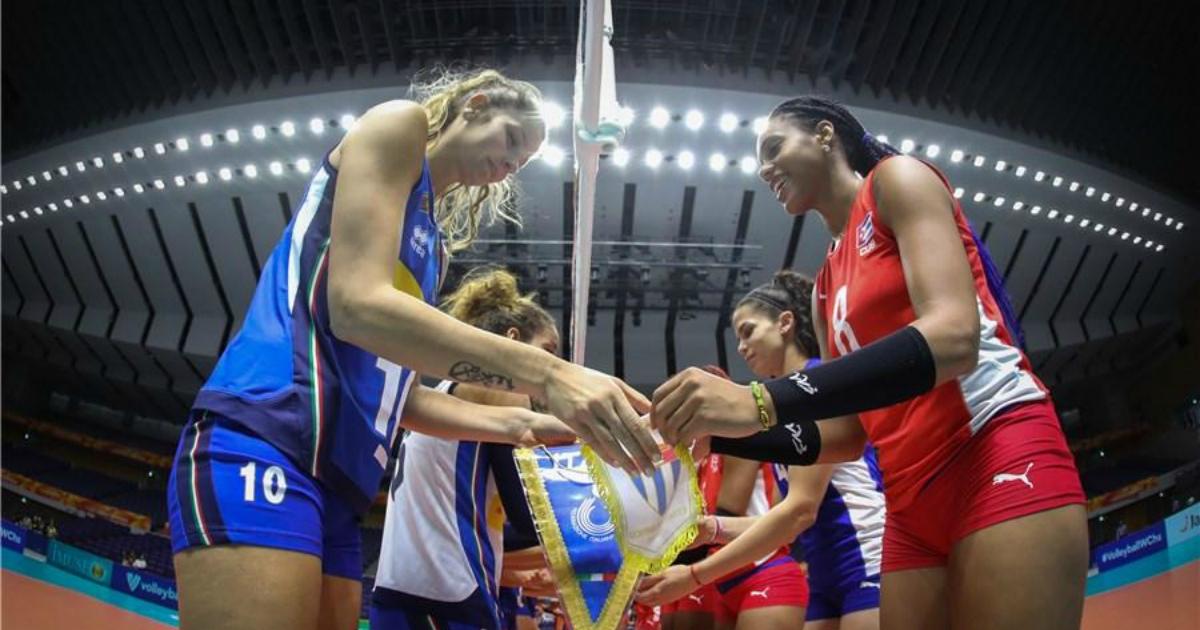 equipo de voleibol femenino de cuba