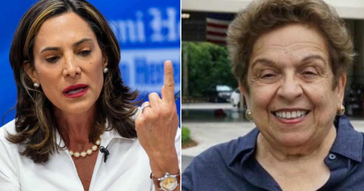 La Democrata Donna Shalala Le Gana A Maria Elvira El Decisivo Distrito 27 De Florida