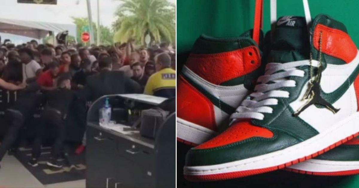 Cancelan en Miami el lanzamiento de tenis Nike Air Jordan