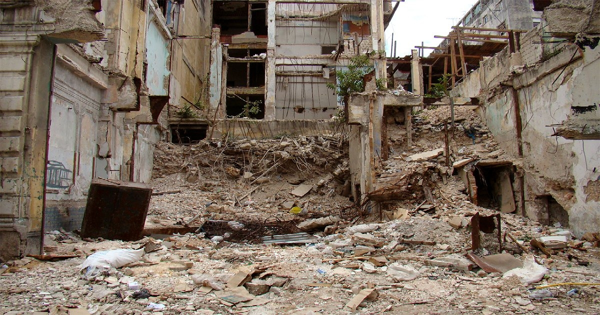 Edificio en ruina (archivo)   Foto © CiberCuba