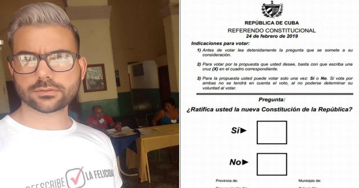 El número 2 de Mariela Castro en el CENESEX se burla de un cubano en el  exterior que no puede votar en el referendo 26b056417c7