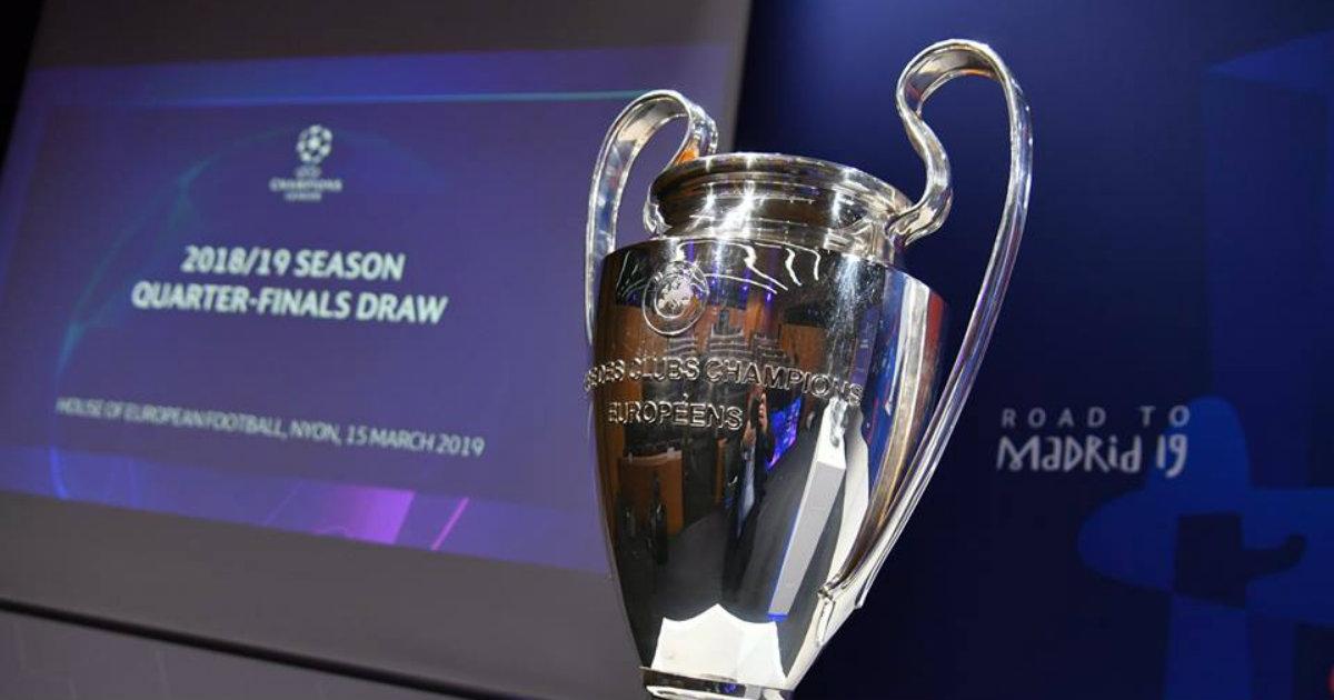 Así quedó el sorteo de cuartos de final de la Champions League