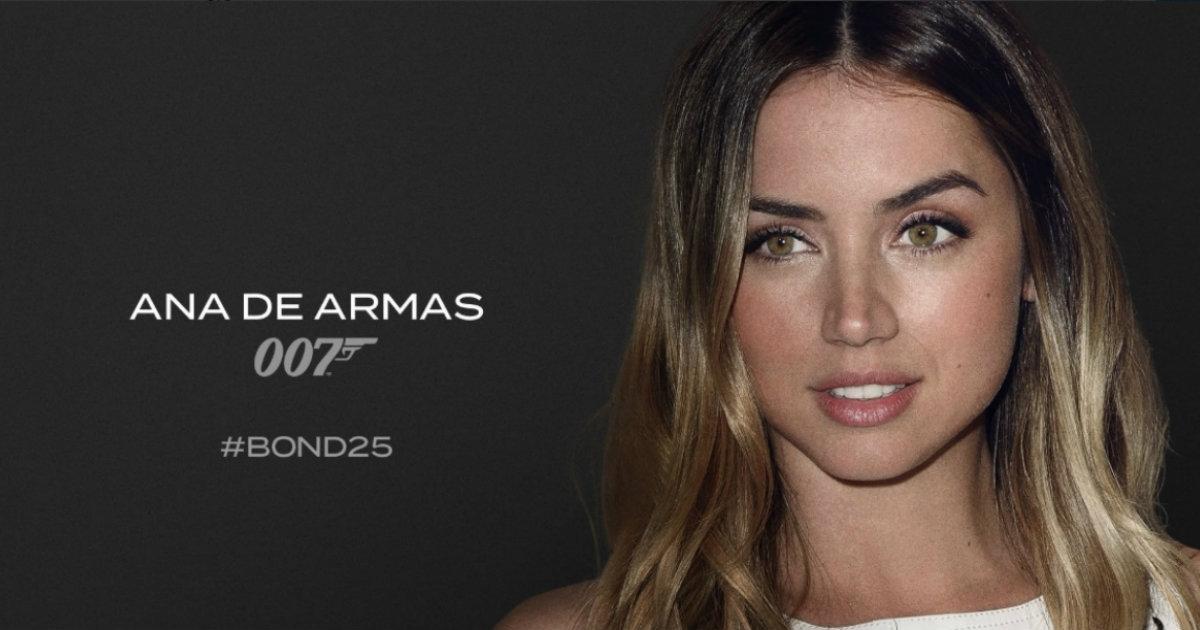 Ana de Armas, das nächste Bond-Girl | Bildquelle: www.cibercuba.com © Twitter / Universal Press | Bilder sind in der Regel urheberrechtlich geschützt