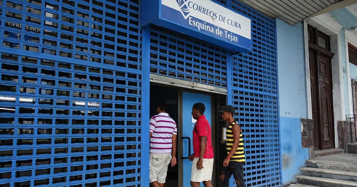 Correos de Cuba informa que se mantendrán las demoras en los