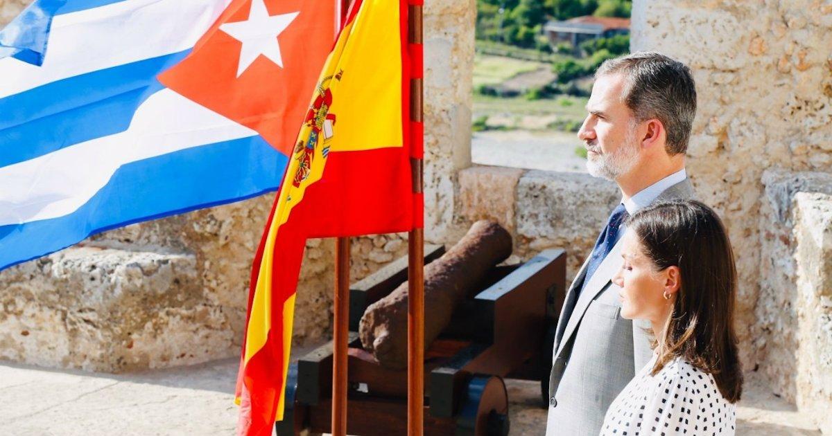 Los Reyes se despiden de Cuba con un homenaje a los españoles caídos en Santiago en 1898 - CiberCuba