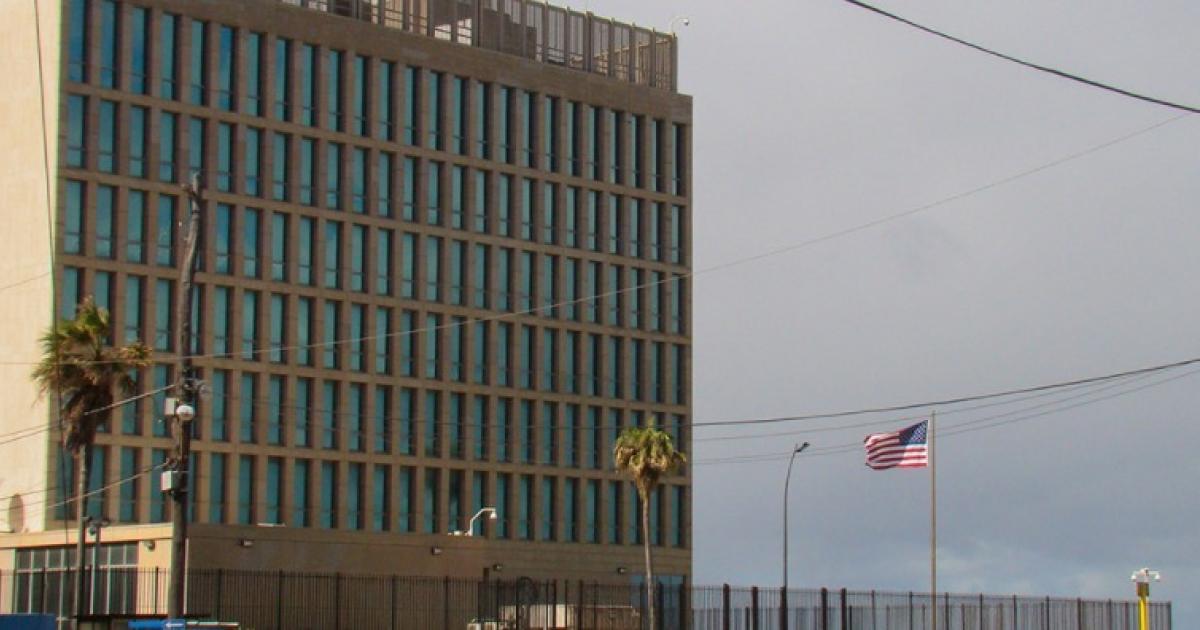 Amerikanische Botschaft in Havanna   Bildquelle: https://t1p.de/gtys © Cibercuba   Bilder sind in der Regel urheberrechtlich geschützt