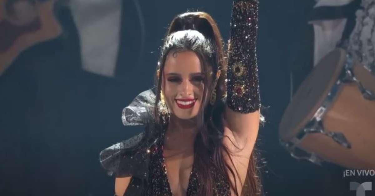 Camila Cabello pide la libertad de Cuba y grita 'Patria y Vida' en los Latin Billboard 2021