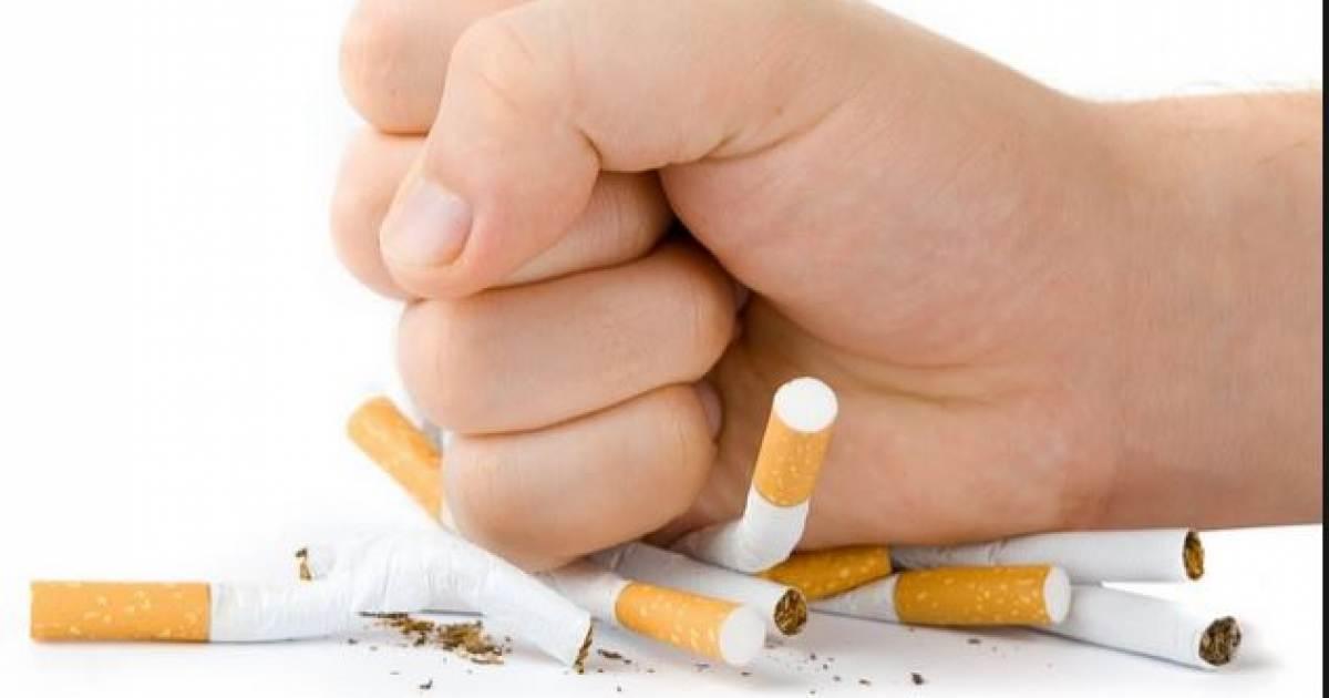 Por qué el marido ha decidido dejar fumar