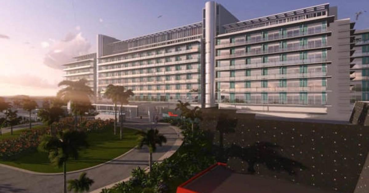 Así está quedando el Hotel Internacional de Varadero