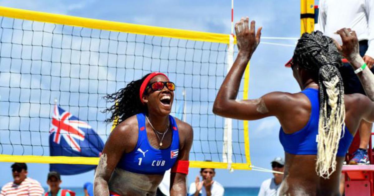 Cubanas del vóley playero discutirán el título en parada de Turquía