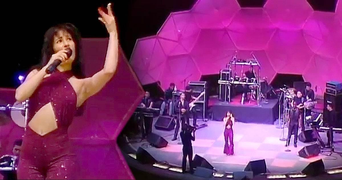 concierto de selena en el astrodome de houston